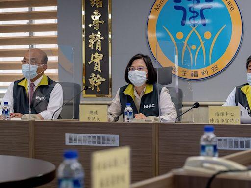 蔡總統:聯亞、高端國產疫苗 盼七月底前供應