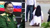緬甸亂象未止/軍方花5000萬元雇說客為政變漂白,修女上街跪警求別開槍傷民