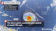 Forecasters tracking Hurricane Sam