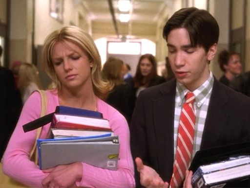 Justin Long shares sweet #TBT memories of working with Britney Spears on Crossroads