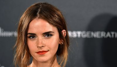 Emma Watson surprises fans with sustainable crop top look at 'surreal' meeting with Al Gore