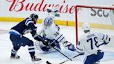 Kyle Connor score twice, Jets beat Maple Leafs 4-2 in finale