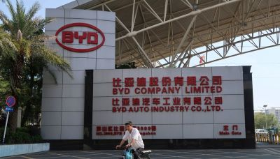 Chinese electric vehicle maker BYD's third-quarter profit drops 27.5%