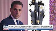 Biden admin has 'a problem' when losing CNN on Hunter Biden art sales ethics: Concha
