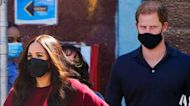 Meghan Markle & Prince Harry Hug and Chat With Elementary School Kids On NYC Visit