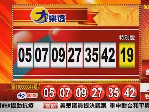 5/11 大樂透、雙贏彩、今彩539 開獎囉!