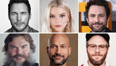 Super Mario Bros. Animated Pic Sets Cast: Chris Pratt As Mario, Charlie Day As Luigi, Anya Taylor-Joy As Princess...