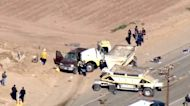 Migrants smuggled through border fence before SUV crash in California
