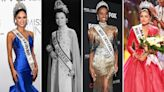 THEN AND NOW: How the Miss Universe pageant has evolved over the last 69 years