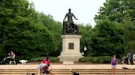 Fight to topple Lincoln statue rages in DC