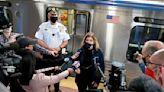 Train riders held up phones as woman was raped, Pennsylvania police say