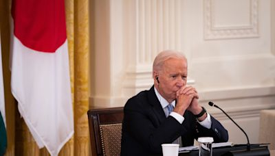 China looms large over Biden's meeting with 'Quad' leaders of India, Australia and Japan