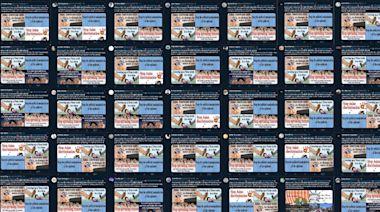 逾350個社交媒體假帳號互相串聯 當中國官媒傳聲筒抹黑反中人士 | 蘋果新聞網 | 蘋果日報