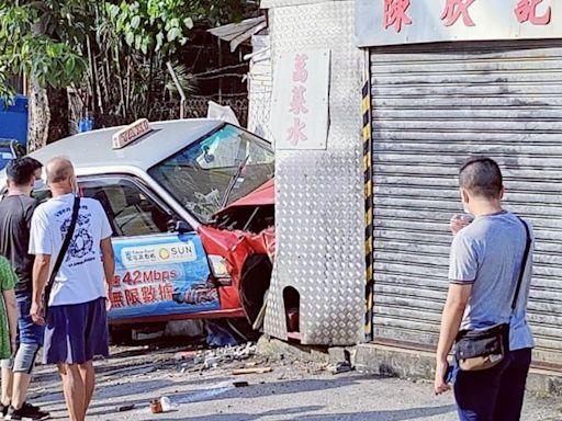 斧山道游泳池對開發生車禍 3人輕傷送院 - RTHK