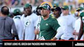 Detroit Lions vs. Green Bay Packers MNF Prediction