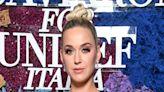 Katy Perry Wears Vintage Pierre Cardin Dress With Statement Bow Sleeves to LuisaViaRoma x UNICEF Gala