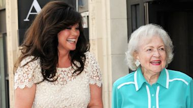 Valerie Bertinelli celebrates Betty White's 99th birthday with adorable bloopers