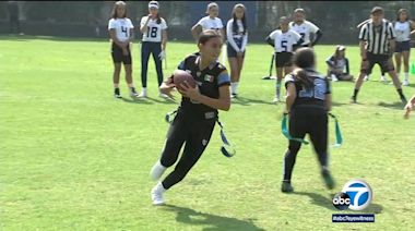 Football's popularity growing among girls in Mexico