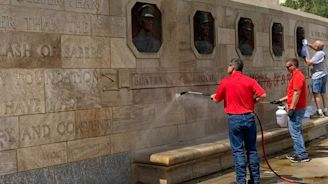 National WWI Museum and Memorial in Kansas City defaced