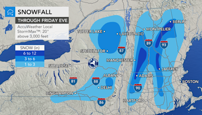Nor'easter walloping parts of Northeast with cold rain, April snow
