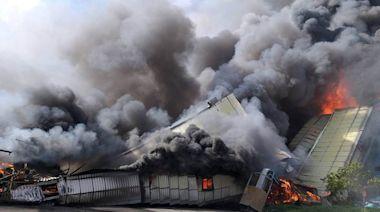 中火遭祝融 台中市府重罰500萬 - 工商時報