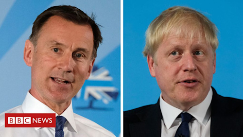 A week in the Tory leadership contest