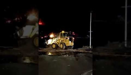 La Palma Firefighters Attempt to Divert Lava Away From Town
