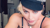 Madonna, 62, rocks black lingerie in 'stunning' — and NSFW — new selfies
