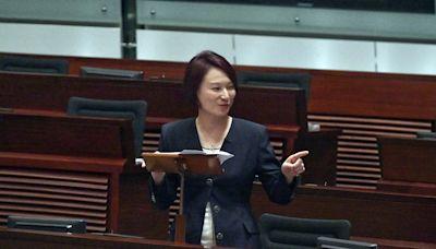 立法會辯論告別議案 李慧琼稱建制派有辱無榮