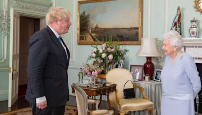 Queen Elizabeth Displays Photo of Prince Harry and Meghan Markle in Buckingham Palace