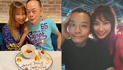 羅苡之越洋賀爸爸73歲 羅樂林全家提早1個月食生日飯
