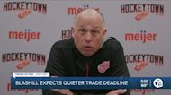 Blashill doesn't expect much movement at trade deadline