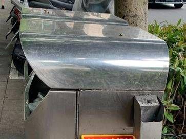 清潔袋置放箱淪狗屎「黃金屋」 北市環局:確實很噁心