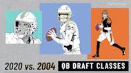 NFL Quarterback Draft Class: 2004 Vs. 2020