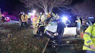 3 injured in Pike Creek, Del. crash
