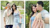 「千年一遇美女空姐」宣布結婚! 緊貼筋肉尪曬婚戒閃爆