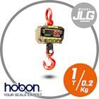 JLG-1噸電子吊秤紅字大字幕【1000k X 0.2Kg】-附遙控器 保固2年 免運費 磅秤 電子秤