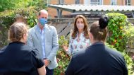 Kate Middleton Wore a $5 Face Mask Trend With a $2,000 Dress