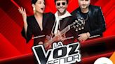 Rating lunes 20 de septiembre: así le fue a 'La Voz Senior' en su noche de estreno