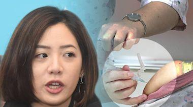 黃珊珊證實 「學姊」黃瀞瑩已打疫苗