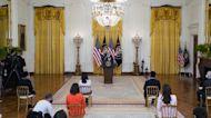 Pres. Biden Blames Trump Admin. for Border Facility Crowding