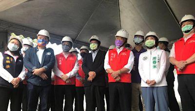 視察恆春醫院新建進度 蘇貞昌指示「預算一次到位」