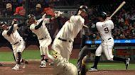 Giants smash four home runs