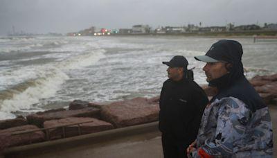 Hurricane Nicholas makes landfall on the Texas coast, bringing powerful winds and threatening rainfall