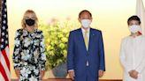 Suga kicks off diplomatic marathon by welcoming Jill Biden