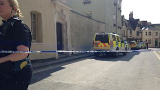 Oxford city centre in lockdown as police exchange fire with gunman