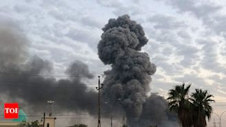 US officials confirm Israeli strike in Iraq - Times of India