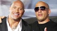 Dwayne Johnson Reacts to Vin Diesel Giving Him 'Tough Love' on 'Fast & Furious' Set