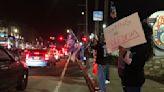 南加多市集會挺特 抗議宵禁