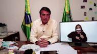 Brazil's Bolsonaro backs Trump reelection